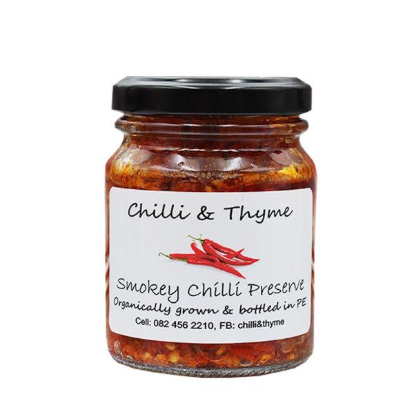 Organic Smokey Chilli Preserve (125ml)