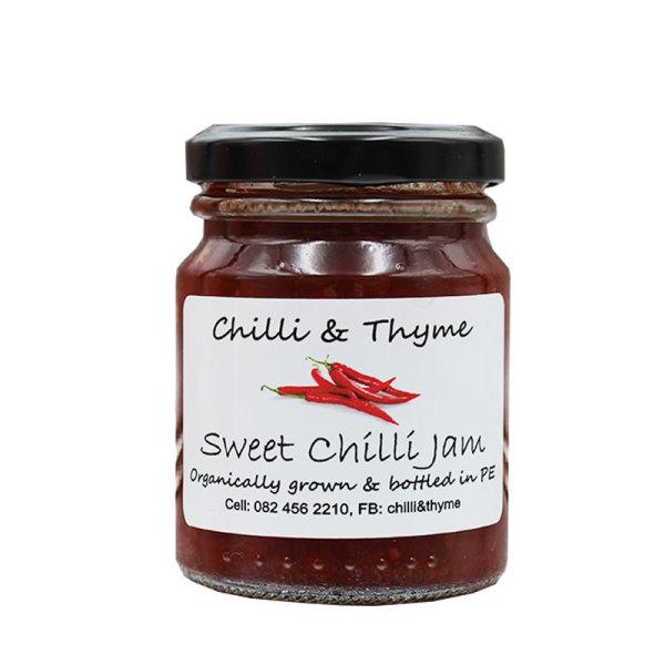 Organic Sweet Chilli Jam (125ml)