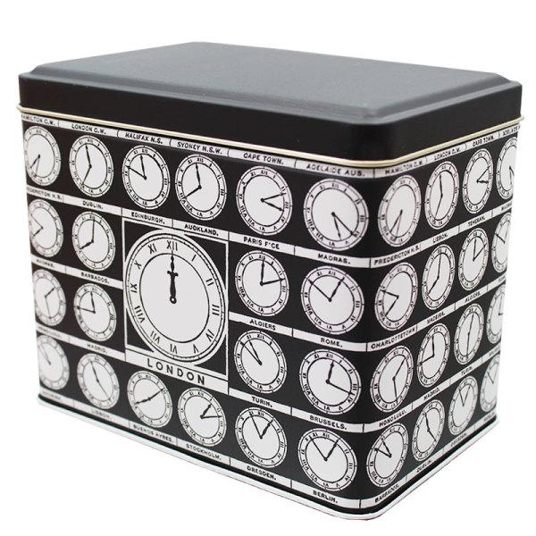 Clock Face Tin