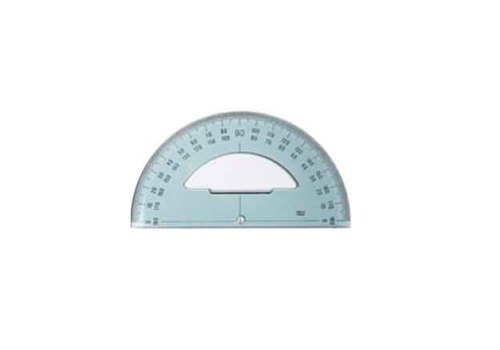 PROTRACTOR 15 CM 180 DEGREE