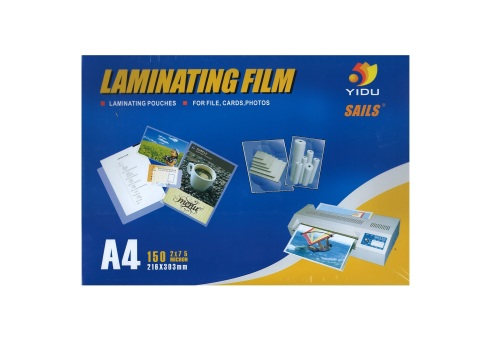 LAMINATING POUCHES A4 YIDU 150MIC LAM001