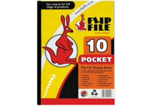 FLIP FILE KANGAROO A4 10 PG