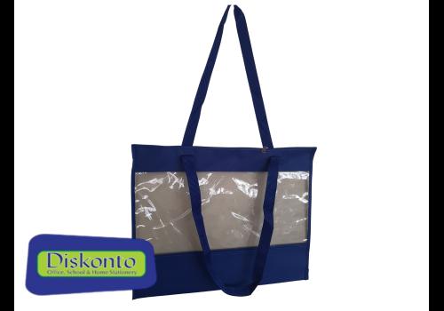 CARRY BAG TEACHERS PVC 40 X 50cm BLUE