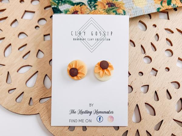 Sunflowers - Stud Earrings