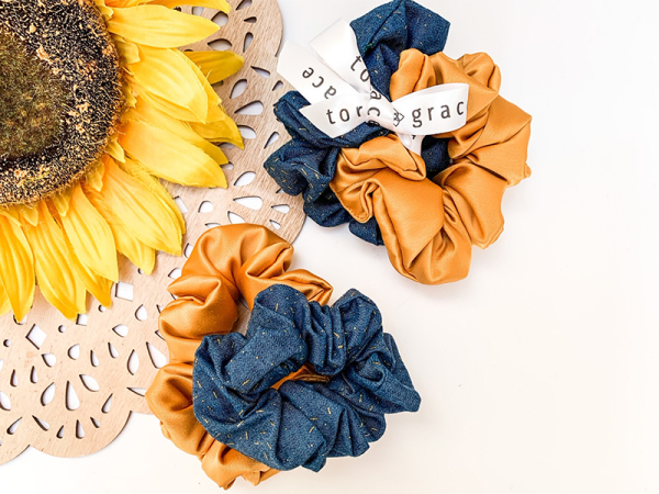 Country Girl Scrunchie Set