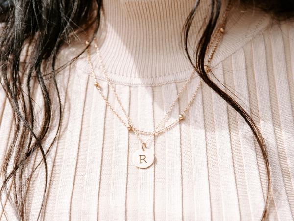 Petite & Ball Chain Layered Necklace Set