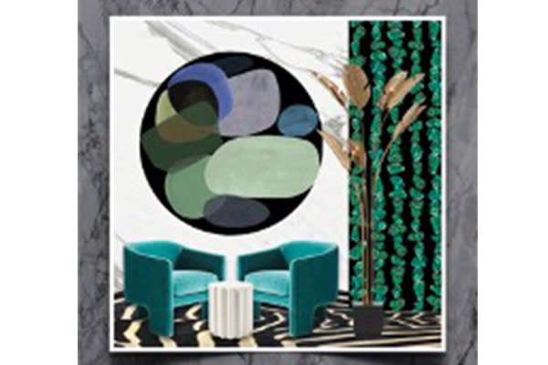 In the mood for luxury: African opulence for your walls