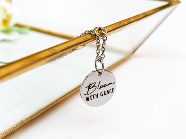 Petite Necklace - Bloom with Grace