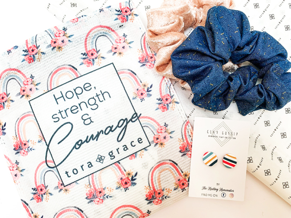 Hope, Strength & Courage - Filled Pocket Mini