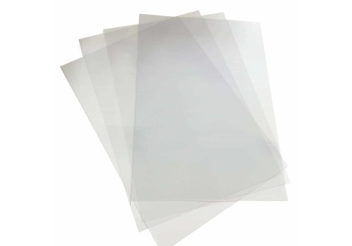 BINDING COVER PVC FOSKA A4 FROST CL 100