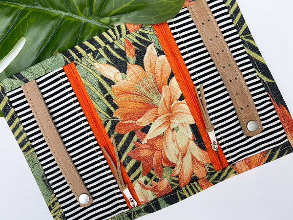Jewellery Travel Purse - Tropical Limited Edition