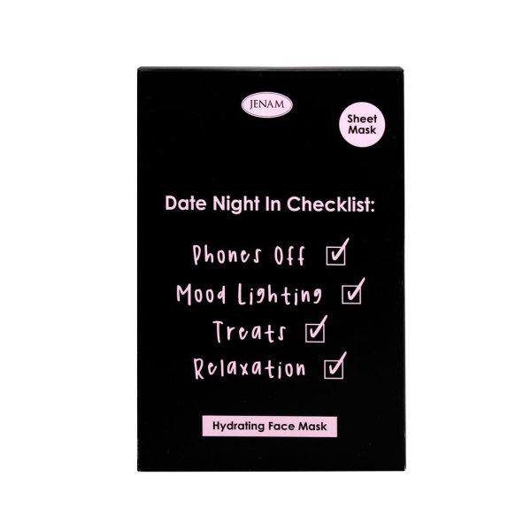 Face Sheet Mask (Date Night Check List) - 1 x Sheet Mask