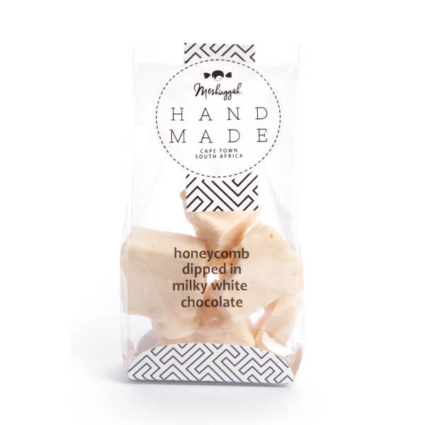 Honeycomb Dipped in White Chocolate (120g)