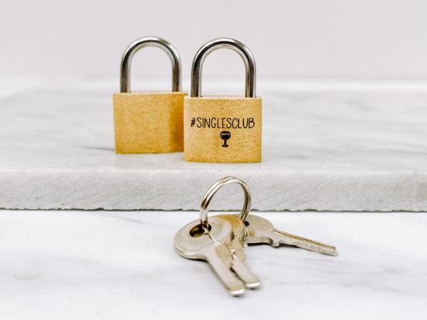 Customisable Lock - Singles Club