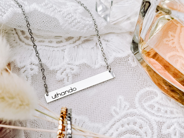 Horizontal Bar Necklace - Uthando