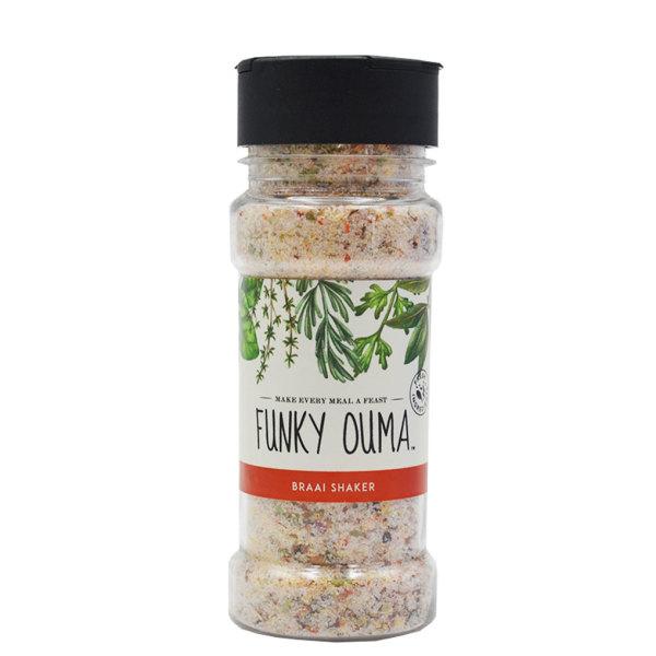 Funky Ouma - Braai Salt Shaker (100g)