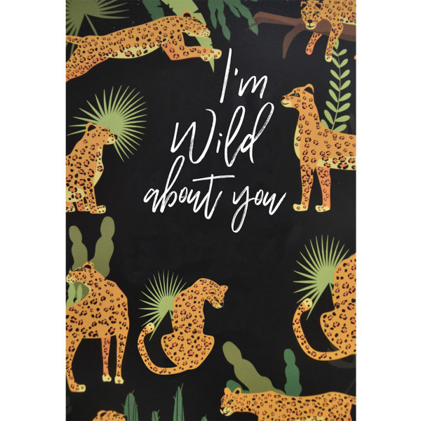 I'm Wild About You Box Wrapper