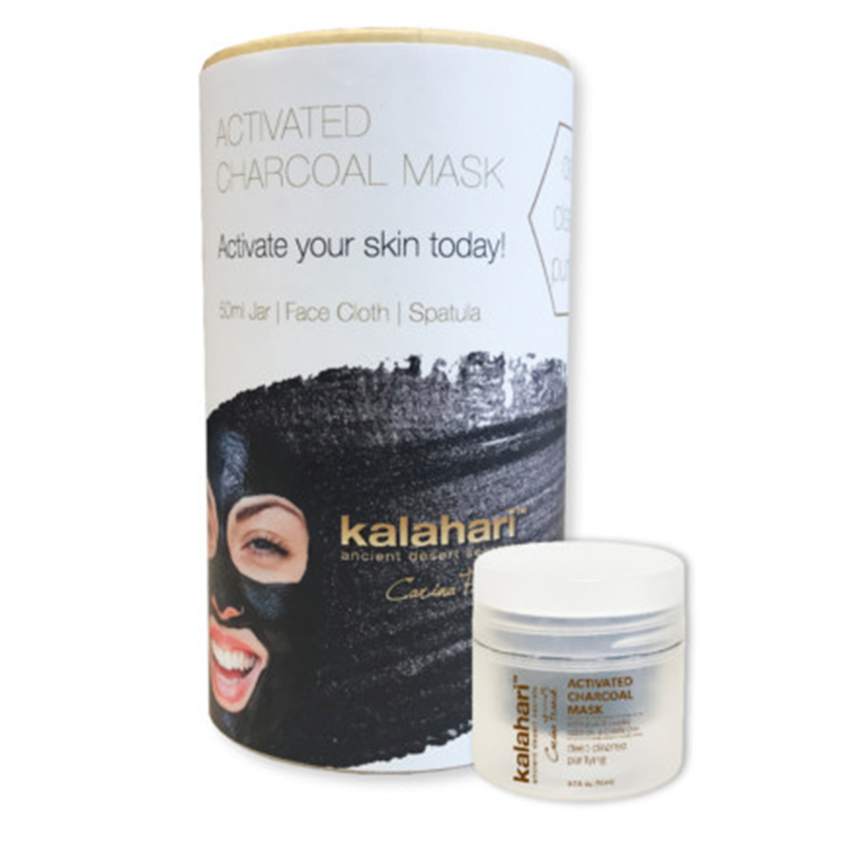 Kalahari Activated Charcoal Mask