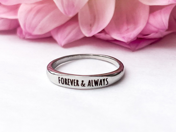 Stacker Ring - Forever & Always