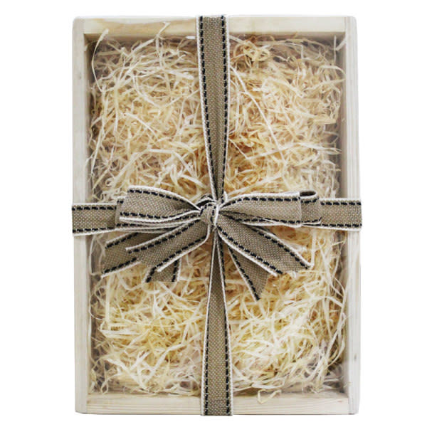 Traditional Wooden Hamper Box