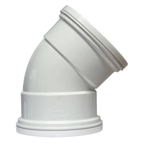 SBS48 - 110mm 135° Plain Bend Double Socket
