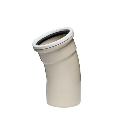 UB40  -  22.5°  Socket Plain Bends 110mm