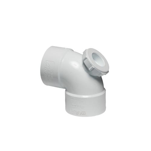 WBE41 - 87.5° E-Spec Access Heel Bend Solvent Weld 40mm