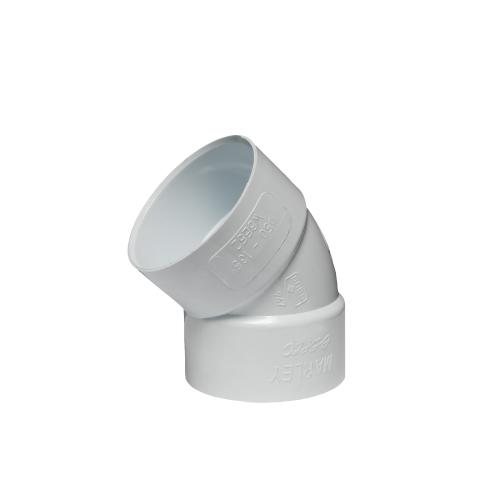 WB40 - 87.5° Plain Bends Solvent Weld Standard Spec 40mm