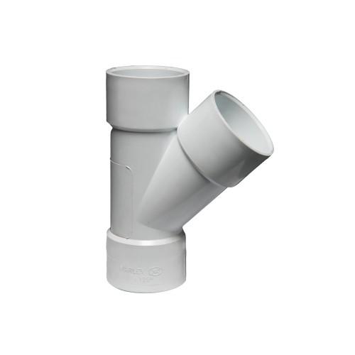 WT42 - 135°  Plain Single Junction Solvent Weld 40mm