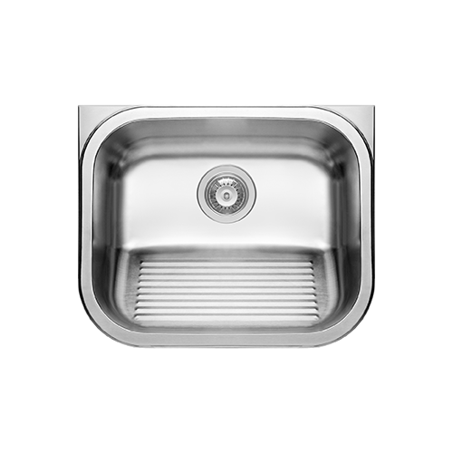 SWT - WM Inset Wash Trough with Ribbing