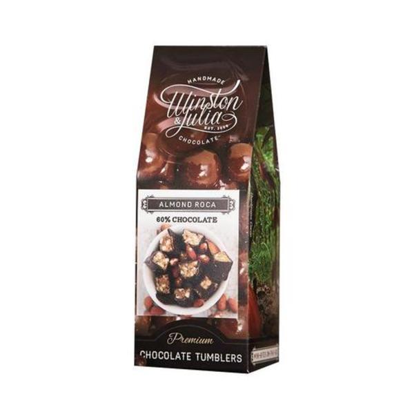 Handmade Almond Roca Chocolate Tumblers (150g)