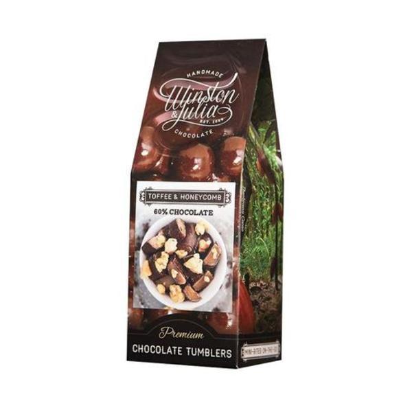 Handmade Toffee & Honeycomb Chocolate Tumblers (150g)
