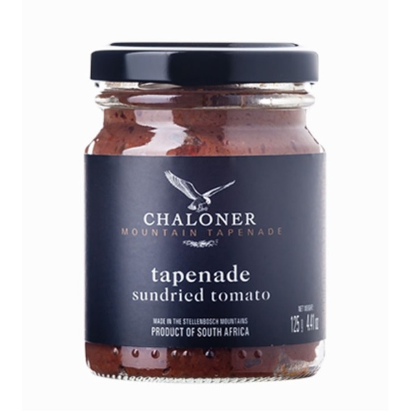 Chaloners Sundried Tomato & Olive Tapenade (125g)