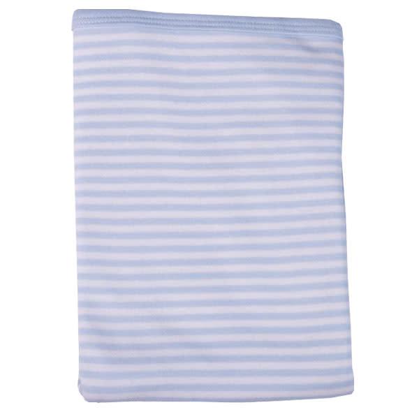 Striped Receiving Blanket - Blue