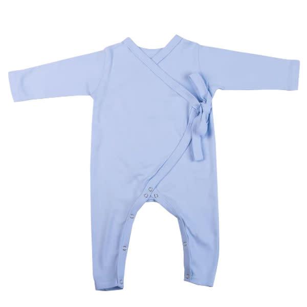 Blue Kimono Babygro (6 - 12 Months)