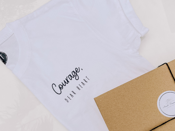 Almost Famous Tees - Courage Dear Heart
