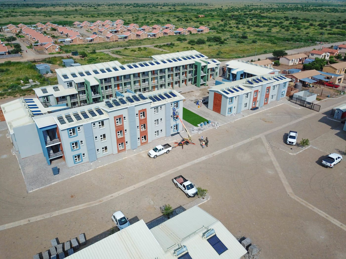 Lerato Park: Completion of the Community Residential Units