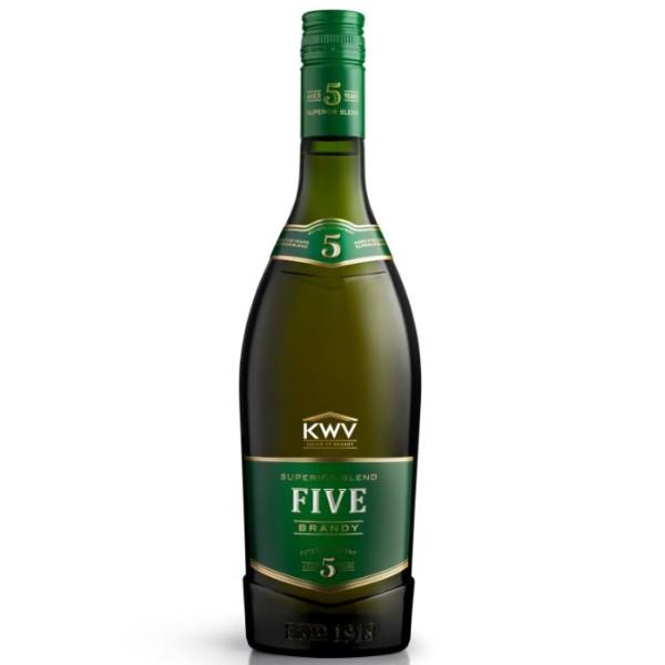 KWV 5YO Brandy (750ml)