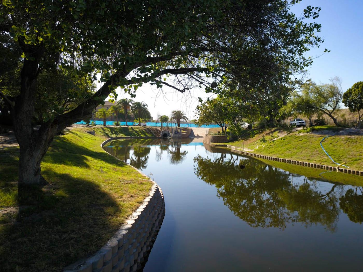 CPUT: Bellville Campus - Stormwater Retention Pond