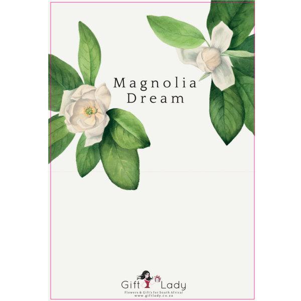 Magnolia Dream Box Wrapper