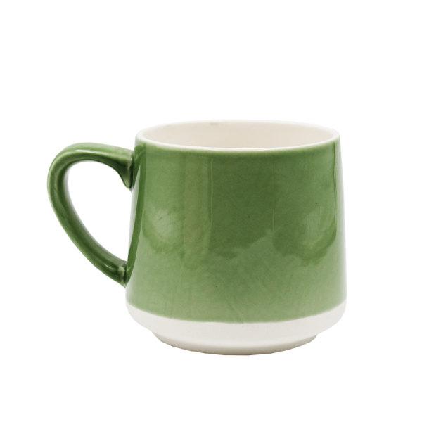 Green Ceramic Handmade Mug
