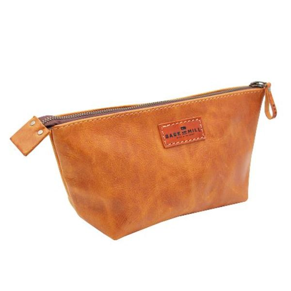 Leather Cosmetic Bag - Ladies