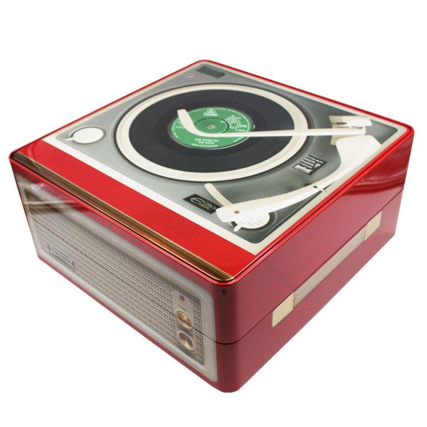 Gramophone Player Tin