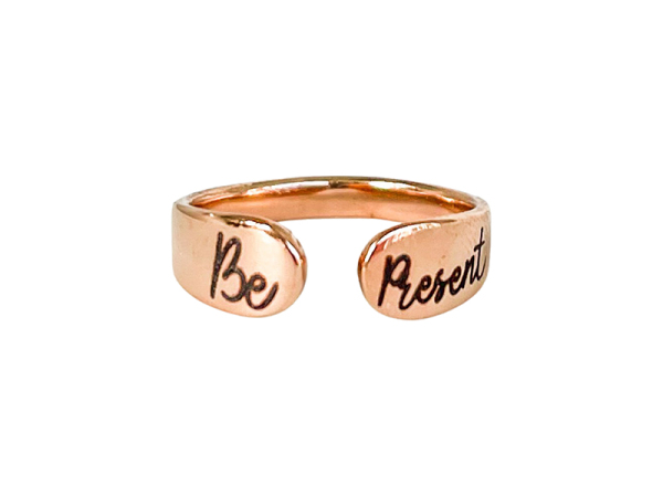 Cuff Ring - Be Present
