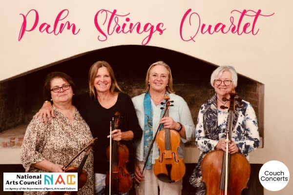 Palm Strings Quartet Live at Cassia