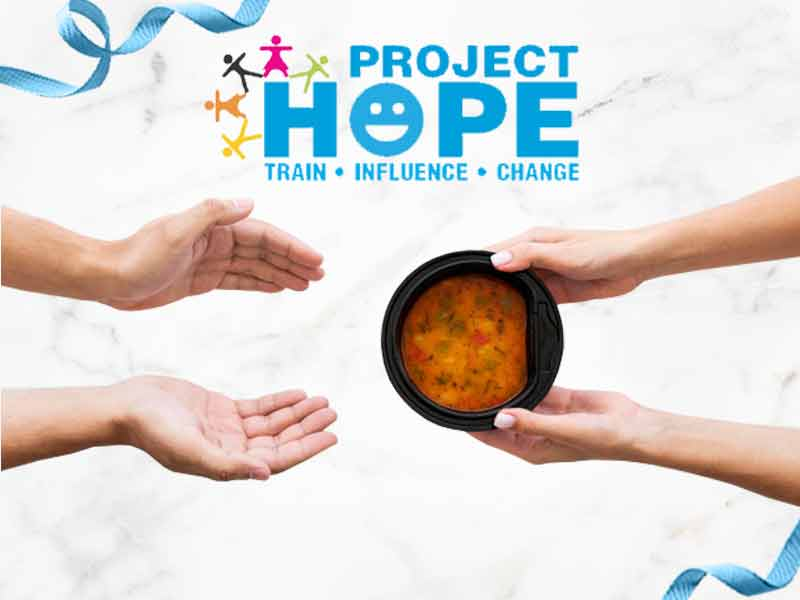 Support Project Hope<br>Feed a Family