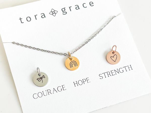 Take Heart Necklace Set