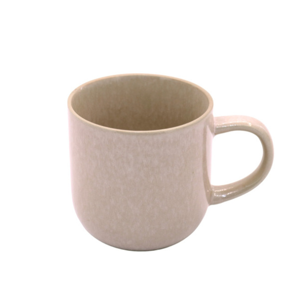 Pink Speckled Ceramic Mug