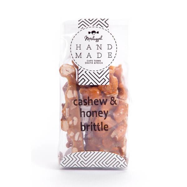 Cashew & Honey Brittle (100g)