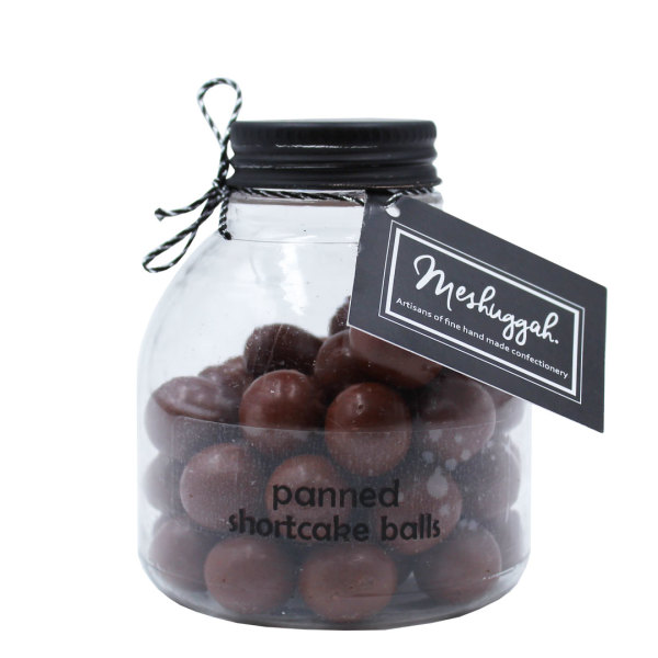 Chocolate Shortbread Jar (120g)